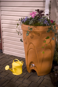 Aquascape Pond Supplies: Terra Cotta Rain Barrel | Part Number 98766 Learn  </div>   <a href=